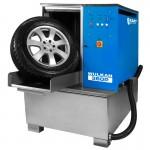 Мойка для колес легковых и грузовых автомобилей с пневматической установкой стабилизации колеса WULKAN-360P