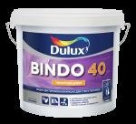 Полуглянцевая водно-дисперсионная (латексная) краска для стен и потолков повышенной износостойкости и влагостойкости Bindo 40 5 л.