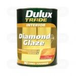 Лак водный Dulux Diamond Glaze полуматовый 1 л.