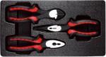 Набор губцевого инструмента в ложементе, 3 предмета