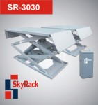 SR-3030 Автомобильный ножничный электрогидравлический подъемник
