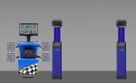 Стенд сход развал 3D Техно Вектор 7 Серия Truck; 7204 H T