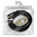 Кабель зажима массы 300: собранный, 4 м, кабель Ø 25мм², тиски-зажим массы, коннектор 35/50