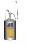 Комплект с насосом для консистентной смазки PumpMaster 3+3 для бочек 185 кг