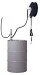 Насос для масла 3:1 с катушкой и электронным счетчиком, монтаж на стену