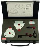 Набор инструментов для контроля и регулировки фаз газораспределения двигателей Fiat 1.6 BAHCO BE523156