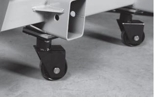 Усиленные колеса для перемещения стапеля и автомобиля